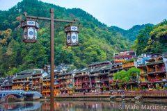 China, Fenghuan, Houses