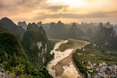 China, Xingping Mountains