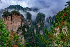 China, Zhangjiajie, Mountains