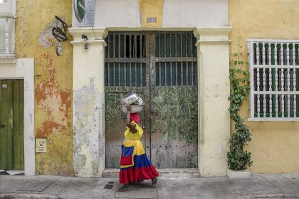Colombia, Cartagena, Palenquera