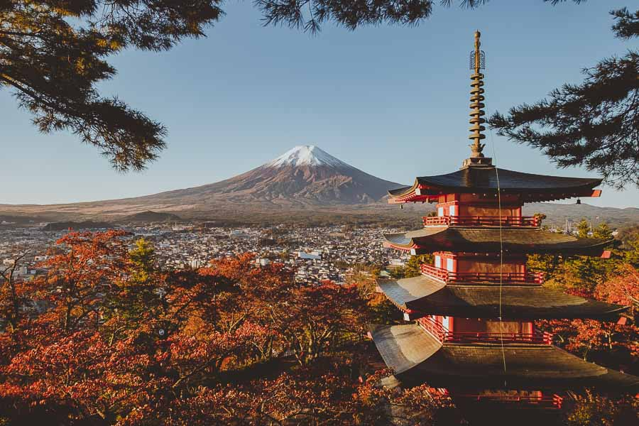 Japan-Fuji-mont