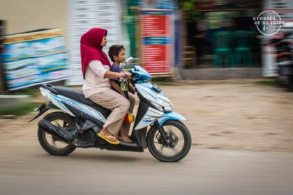 Indonesia, Transportation, motorcycle