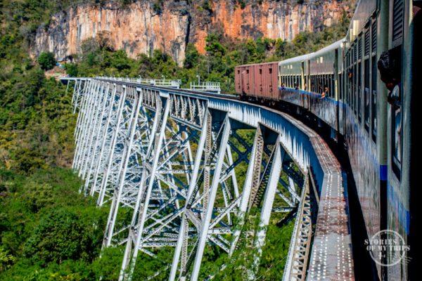 Myanmar Goteik viaduct