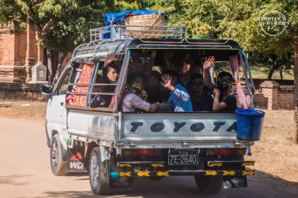 Myanmar, Transportation, truck