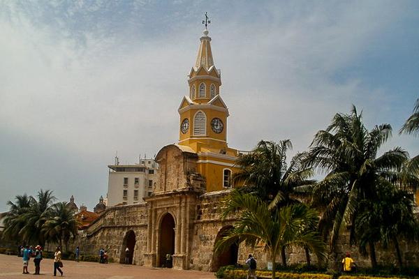 Colombia, Cartagena, Torre del reloj
