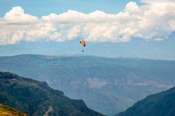 Colombia, San Gil, Cañón del Chicamocha