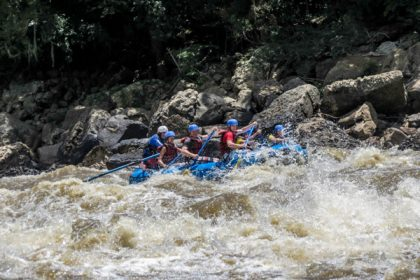 Colombia, San Gil, Rafting