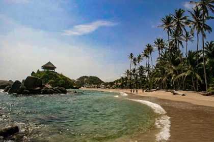 Colombia, Tayrona, playa