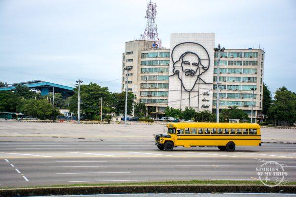 Buses en la Habana