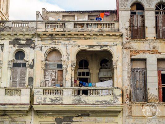 Fachadas en Cuba