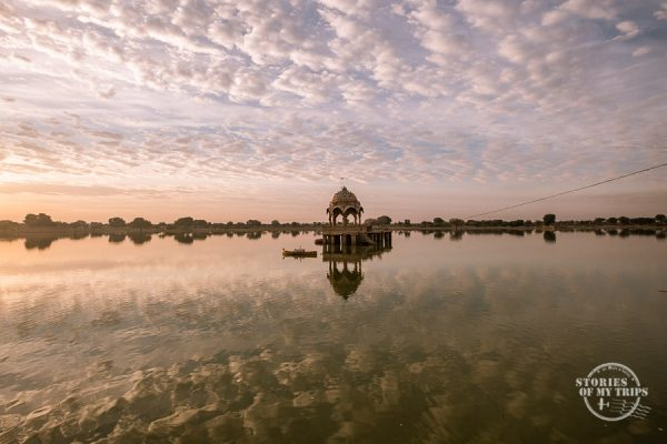 India Jaisalmer Lake