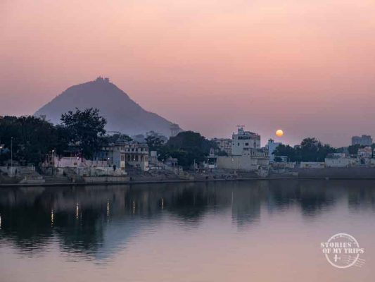 India Pushkar Lake