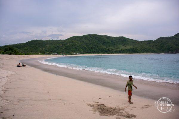 Kuta Lombok Beach, Indonesia